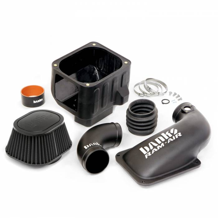 Banks Power - Banks Power 11-12 Duramax Ram-Air Cold-Air Intake System, Dry Filter 42220-D
