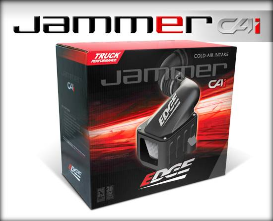 Edge Products - Edge Products 2004.5-2005 Duramax Jammer Cold Air Intake-Dry Filter