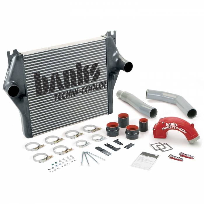 Banks Power - Banks Power 03-05 Cummins Techni-Cooler  Intercooler System with Monster-Ram and Boost Tubes 25980