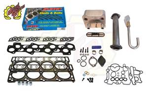 Deviant Race Parts - Deviant Race Parts Stage 1 Complete 18MM 6.0L Powerstroke Head Gasket Parts Kit 93538