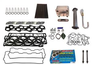 Deviant Race Parts - Deviant Race Parts Stage 2 Complete 18MM 6.0L Powerstroke Head Gasket Parts Kit 93518