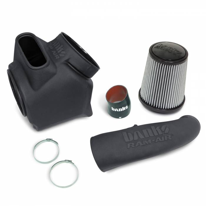 Banks Power - Ram-Air Cold-Air Intake System, Dry Filter for use with 2017-2019 Chevy/GMC 2500 L5P 6.6L Banks Power
