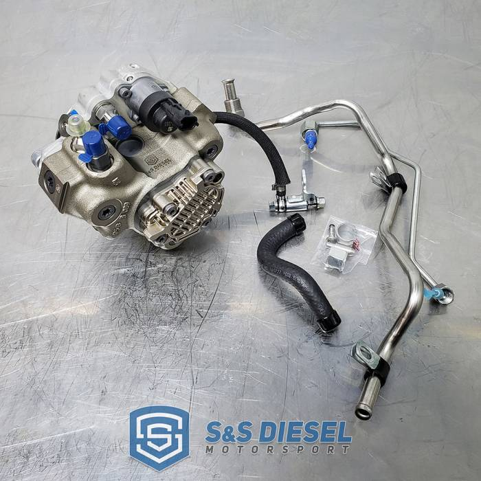 S&S Diesel - LML CP3 conversion kit w/o pump - Offroad Use Only - No DPF
