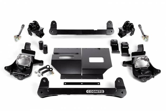 "Cognito - Cognito 4""/6"" Non-Torsion Bar Drop Front Suspension Lift Kit (GM)"