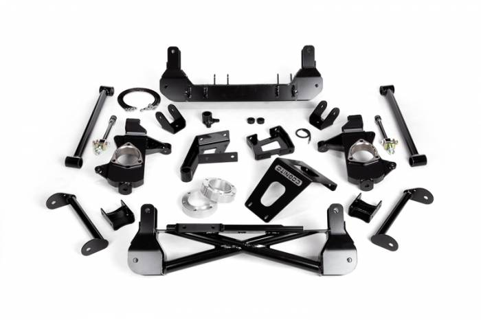"Cognito - Cognito 7""/9"" Front Suspension Lift Kit for OE Cast Steel Arms/StabiliTrak (GM)"