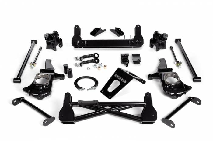 "Cognito - Cognito 7""/9"" Non-Torsion Bar Drop Front Suspension Lift Kit for Non-StabiliTrak (GM)"