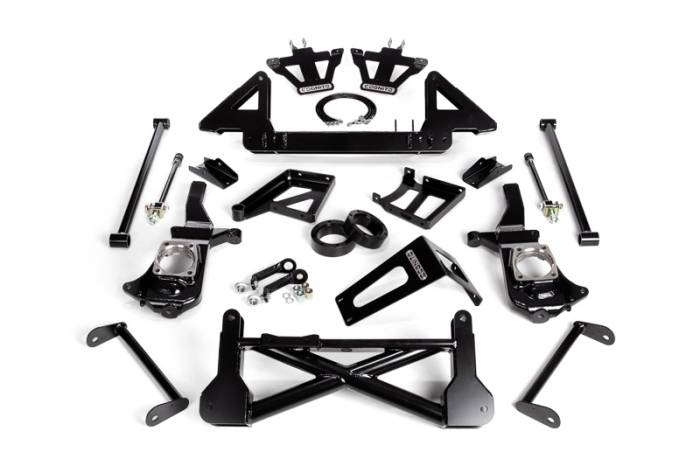 "Cognito - Cognito 10""/12"" Front Suspension Lift Kit for Non-StabiliTrak (GM)"