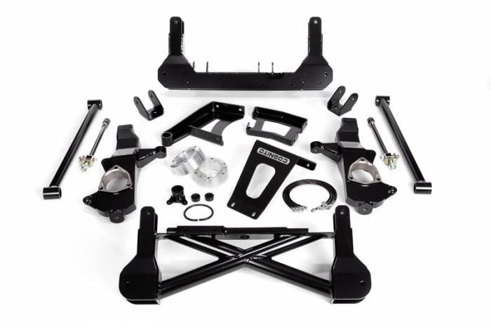 """Cognito - Cognito 10""""/12"""" Front Suspension Lift Kit for OE Cast Steel Arms/StabiliTrak (GM)"""
