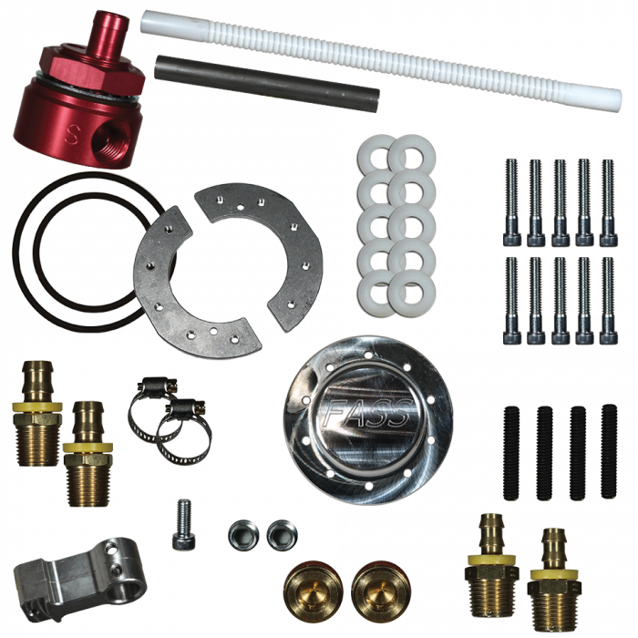 FASS - FASS FUEL SYSTEMS DIESEL FUEL SUMP WITH BULKHEAD AND SUCTION TUBE KIT (STK-5500)