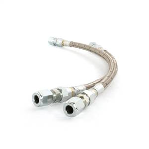 Steering And Suspension - Suspension Parts - Deviant Race Parts - Deviant Race Parts Duramax Stainless Power Steering Repair Lines 70500