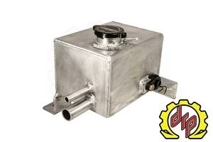 Deviant Race Parts - Deviant Race Parts LMM Fabricated Coolant Tank for Twin Turbo Trucks 74600