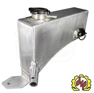 Cooling System - Cooling System Parts - Deviant Race Parts - Deviant Race Parts LLY/LBZ Fabricated Coolant Tank for Twin Turbo Trucks 74610