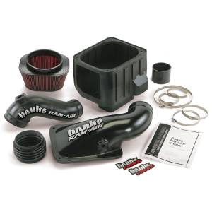 Banks Power - Banks Power 01-04 Duramax Ram-Air Cold-Air Intake System, Oiled Filter 42132
