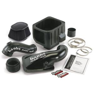 Banks Power - Banks Power 01-04 Duramax Ram-Air Cold-Air Intake System, Dry Filter 42132-D