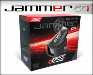 Edge Products - Edge Products 2001-2004 Duramax Jammer Cold Air Intake-Dry Filter