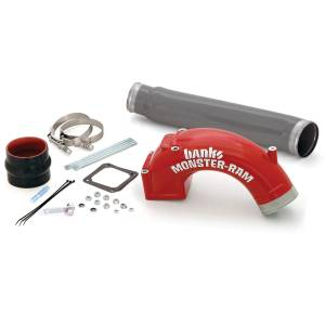 Engine Parts - Parts & Accessories - Banks Power - Banks Power 98.5-02 Cummins Monster-Ram Intake Elbow with Boost Tube 42764