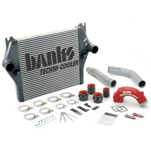 Turbo Chargers & Components - Intercoolers and Pipes - Banks Power - Banks Power 03-05 Cummins Techni-Cooler  Intercooler System with Monster-Ram and Boost Tubes 25980