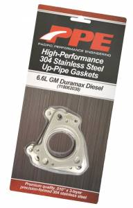 PPE Diesel - Oem Length Up-Pipes Non-EGR GM Fed 01-04 And Ca 2001 PPE Diesel - Image 2