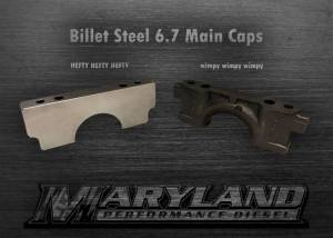 Maryland Performance Diesel - MPD 11-19 Billet Main Caps