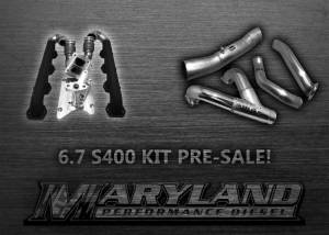 Turbo Chargers & Components - Turbo Charger Kits - Maryland Performance Diesel - MPD 11-19 S400 Turbo Kit (No Turbo) PRESALE DOWN PAYMENT