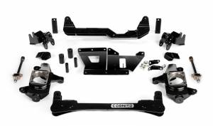"""Steering And Suspension - Lift & Leveling Kits - Cognito - Cognito 4""""/6"""" Non-Torsion Bar Drop Front Suspension Lift Kit (GM)"""