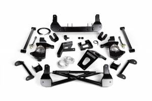 """Steering And Suspension - Lift & Leveling Kits - Cognito - Cognito 7""""/9"""" Front Suspension Lift Kit for OE Cast Steel Arms/StabiliTrak (GM)"""