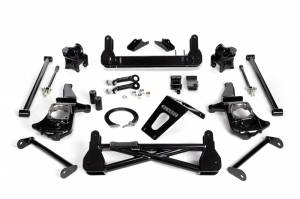 """Steering And Suspension - Lift & Leveling Kits - Cognito - Cognito 7""""/9"""" Non-Torsion Bar Drop Front Suspension Lift Kit for StabiliTrak (GM)"""