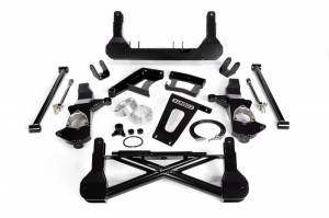 "Cognito - Cognito 10""/12"" Front Suspension Lift Kit for OE Cast Steel Arms/StabiliTrak (GM)"