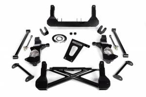 "Cognito - Cognito 10""/12"" Front Suspension Lift Kit for OE Cast Steel Arms/Non-StabiliTrak (GM)"