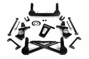 "Cognito - Cognito 10""/12"" Front Suspension Lift Kit for OE Stamped Steel and Aluminum Arms/StabiliTrak (GM)"