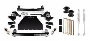 Steering And Suspension - Lift & Leveling Kits - Cognito - Cognito 4 Standard Lift Kit for OE Cast Steel Arms (GM)
