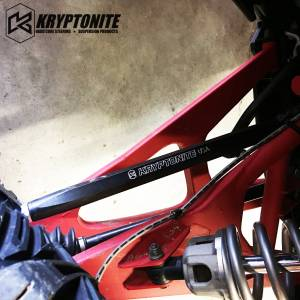 "Kryptonite - KRYPTONITE POLARIS RZR DEATH GRIP TIE RODS STAGE ""2"" 2018-2020 TURBO S - Image 4"