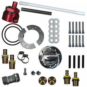 FASS - FASS FUEL SYSTEMS DIESEL FUEL SUMP WITH BULKHEAD AND SUCTION TUBE KIT (STK-5500) - Image 1